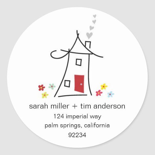New Home Address Labels