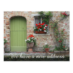 New Home Address We've Moved Postcards at Zazzle