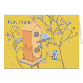New Home and Address Stationery Note Card