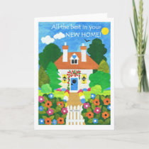 New Home Best Wishes Card