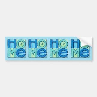 New Home Bumper Sticker