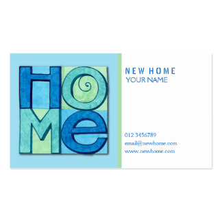 New Home Business Card