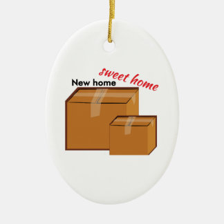 New Home Ceramic Ornament