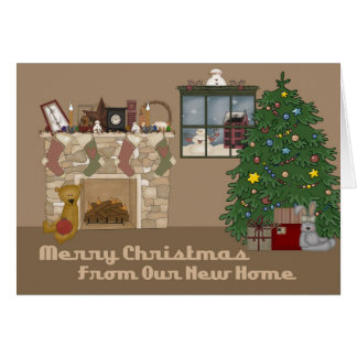 New Home Christmas Card