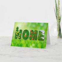 New Home Congratulations Card