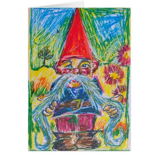 New Home Congratulations Gnome Card
