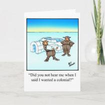 New Home Congratulatios Humor Card