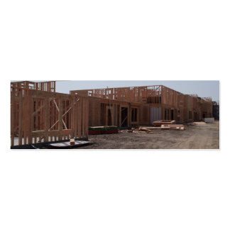 New Home Construction Double-Sided Mini Business Cards (Pack Of 20)