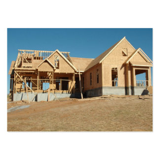new  home construction business card templates
