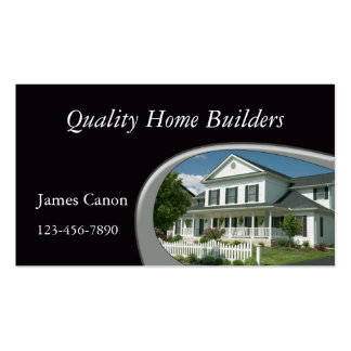 New Home Construction Business Card Template