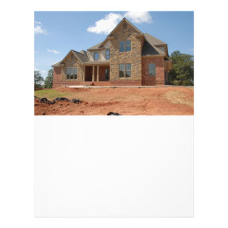 "New Home Construction 8.5"" X 11"" Flyer"