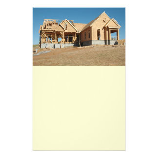 new home construction flyer