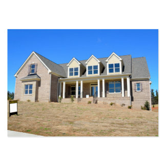 New Home Construction Large Business Card