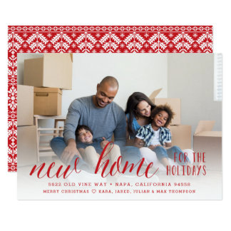 New Home for the Holidays | Photo Card