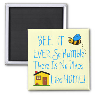 New Home-House Warming Gift 2 Inch Square Magnet