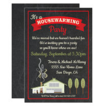 New Home Housewarming Party Invitations