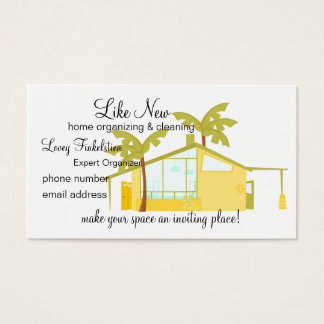 New Home in the Palms Business Card