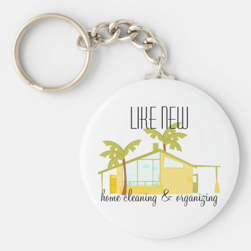 New Home in the Palms Key Chains
