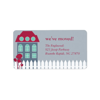 New Home Mailing Label Address Label