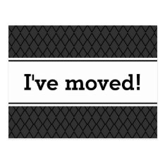 New Home Moving Postcards | I've Moved! at Zazzle
