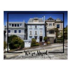 New Home Photo We've Moved Announcement Postcard at Zazzle