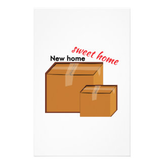 New Home Stationery