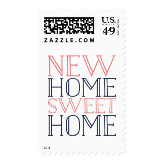 New Home Sweet Home | Moving Announcement Postage