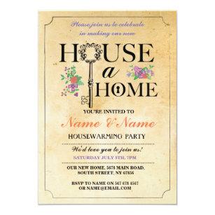 Floral Housewarming Party Engagement Party Invitations Zazzle