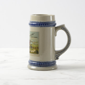 New Home with Sewing Machine 18 Oz Beer Stein