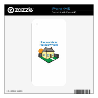 NEW HOMEOWNER SKIN FOR iPhone 4S