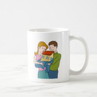 New Homeowners Cartoon Coffee Mug