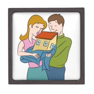 New Homeowners Cartoon Gift Box