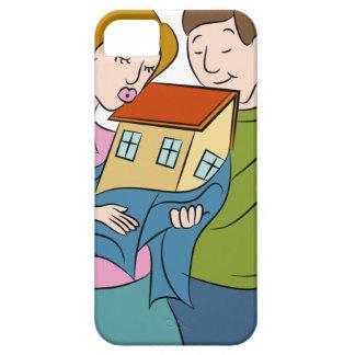 New Homeowners Cartoon iPhone SE/5/5s Case