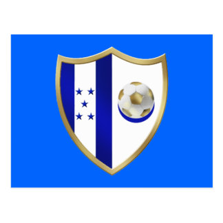 New Honduras Football fans club Emblem Postcard