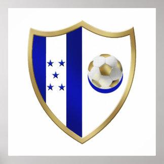 New Honduras Football fans club Emblem Poster