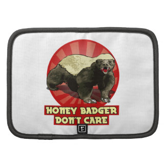 New Honey Badger Don't Care Organizers