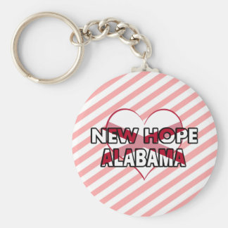New Hope, Alabama Keychain
