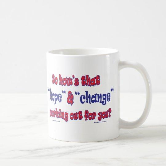 NEW-HOPE-AND-CHANGE-Funky Script Coffee Mug