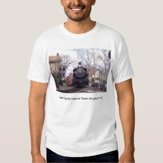 New Hope & Ivyland Railroad  Steam Engine # 40 Shirt