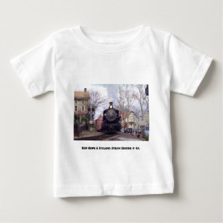 New Hope & Ivyland Railroad  Steam Engine # 40 T Shirt