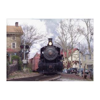 New Hope & Ivyland Steam Engine # 40 Acrylic Print