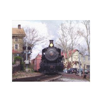 New Hope & Ivyland Steam Engine # 40 Canvas Print