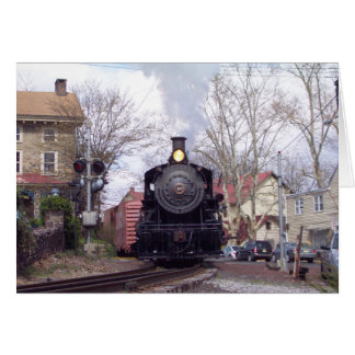 New Hope & Ivyland Steam Engine # 40 Thank You Cards