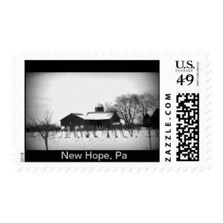 New Hope, Pa Barn Stamp