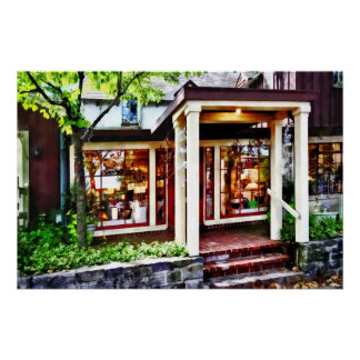 New Hope PA - Craft Shop Poster