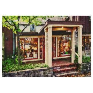 New Hope PA - Craft Shop Wood Poster