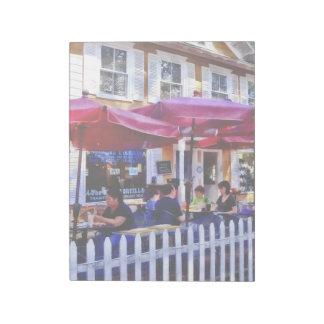 New Hope PA - Dining Al Fresco Notepad