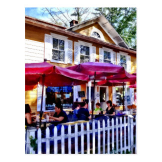 New Hope PA - Dining Al Fresco Postcard