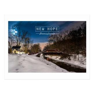 New Hope Pa, Postcard