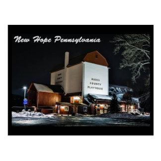 New Hope Pa. Postcard
